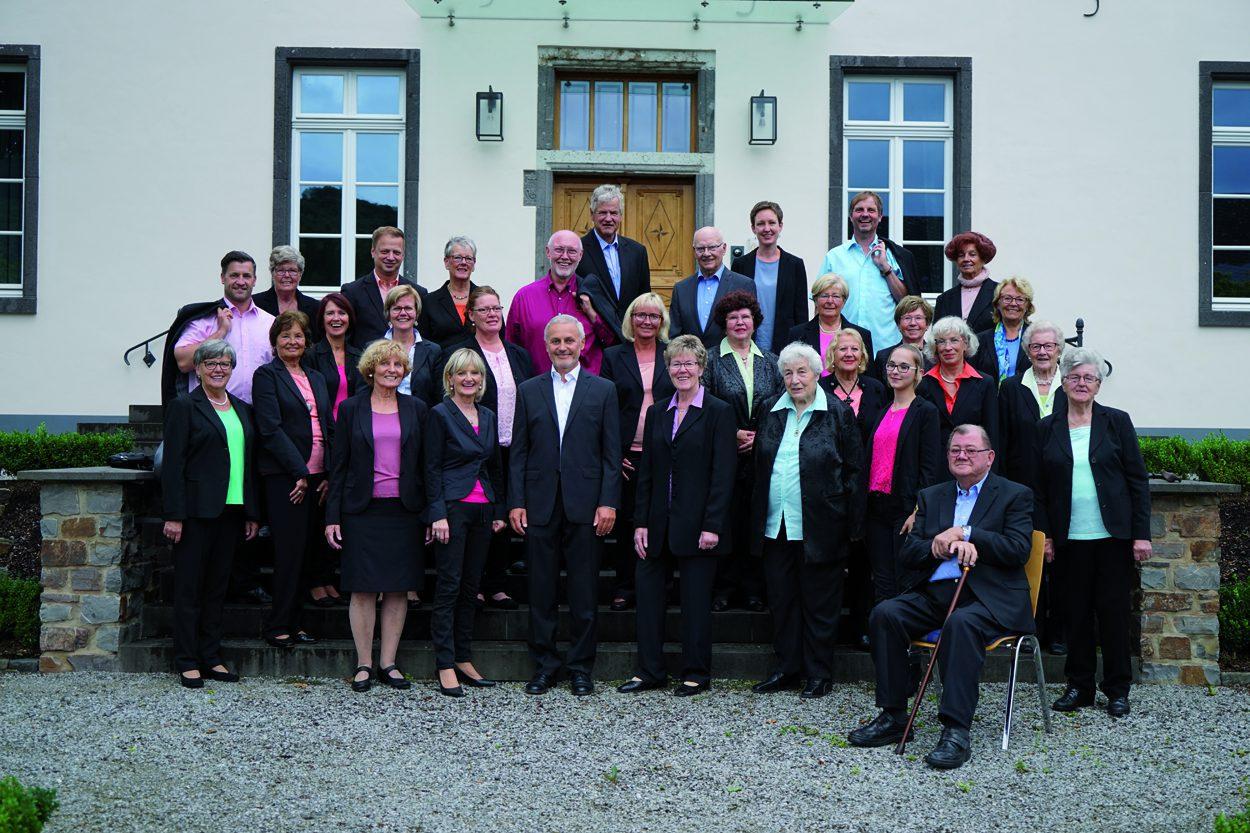 """Der Kirchchor """"Cäcilia 1777"""" Waldbreitbach im Festjahr 2017"""