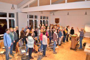 """Beeindruckender Start für Projektchor des Kirchenchors """"Cäcilia"""" 1777 Waldbreitbach – Aufführung am 17. April 2017"""
